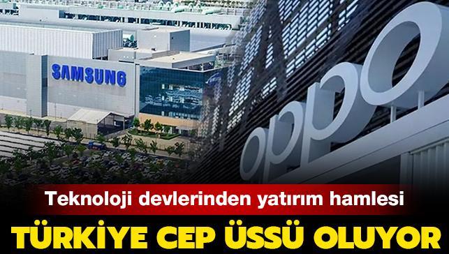 Teknoloji devlerinden yatırım hamlesi: Türkiye cep üssü oluyor