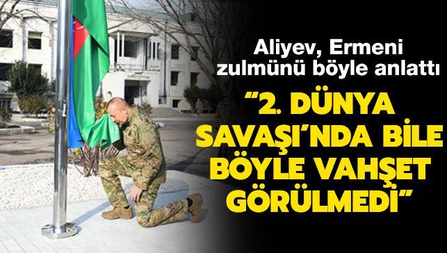Aliyev, Ermeni işgalinden kurtarılan Gubadlı'yı ziyaret etti