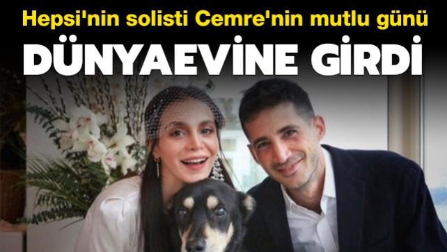 Hepsi grubunun eski solisti Cemre Kemer'in mutlu günü! Sevgilisi Emir Medina ile evlendi