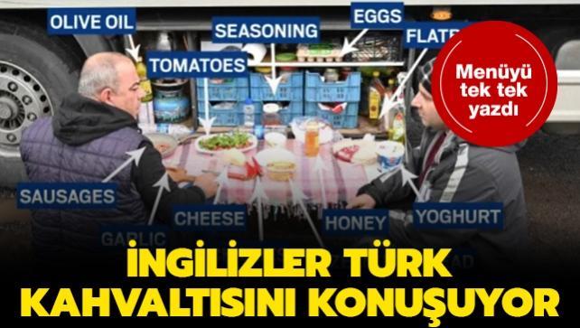 Mutasyonun ortaya çıktığı İngiltere'de Türk kahvaltısına hayran kaldılar