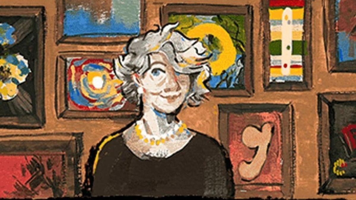 """Kimdir bu Aliye Berger, neden doodle oldu"""" Aliye Berger ne zaman öldü"""""""
