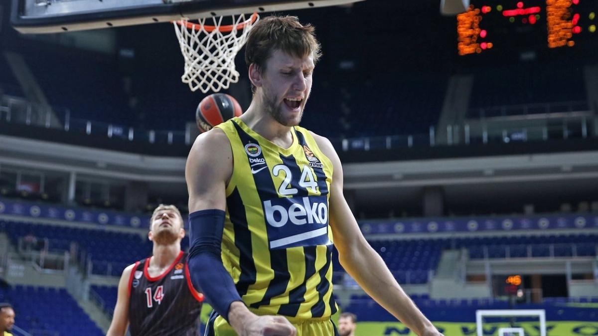 Fenerbahçe Beko Euroleague'de Olimpiakos'u devirmeyi başardı