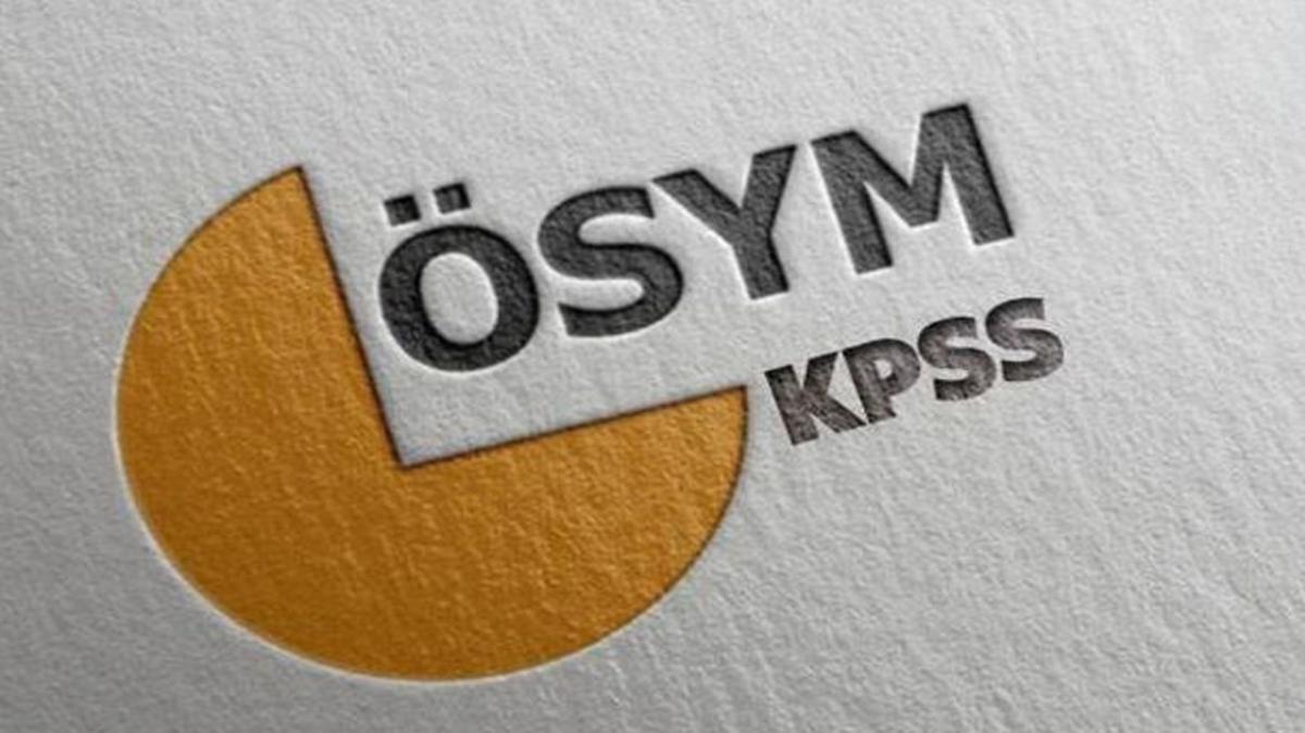 KPSS ortaöğretim branş sıralaması 2020 açıklandı! ÖSYM Branş bazında sıralama ekranı burada