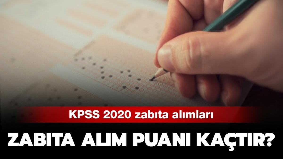 """KPSS ortaöğretim zabıta puanları açıklandı mı"""" 2020 Zabıta alımı puanı nasıl"""""""