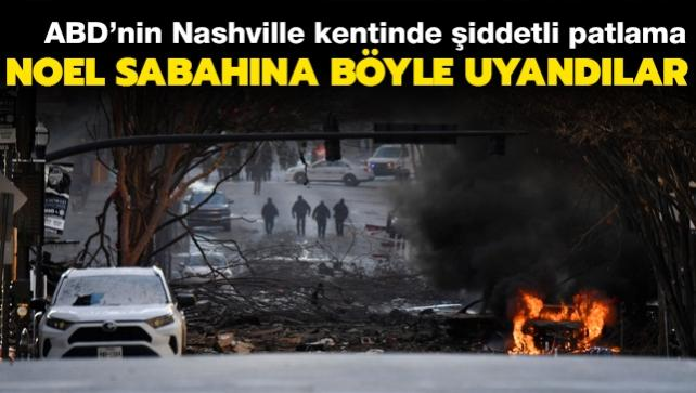 ABD'de şiddetli patlama... Noel sabahına böyle uyandılar