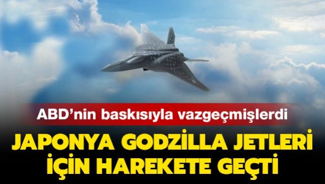 ABD'nin baskısıyla vazgeçmişlerdi: Japonya Godzilla jetleri için harekete geçti!