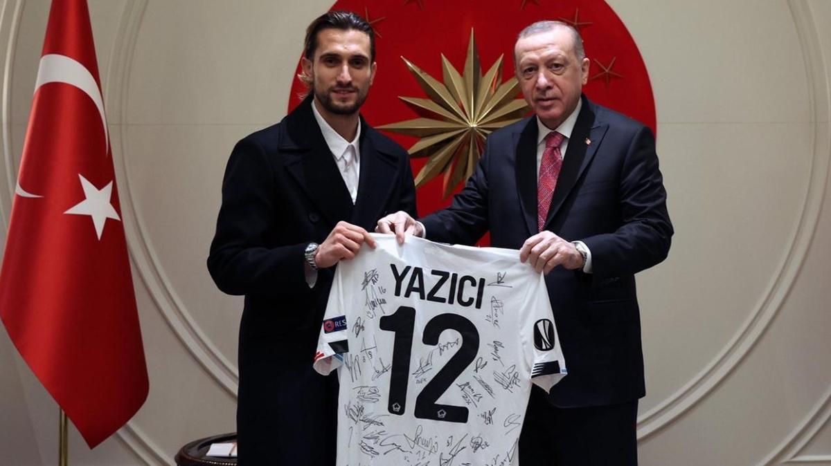 Başkan Erdoğan, Yusuf Yazıcı'yı kabul etti