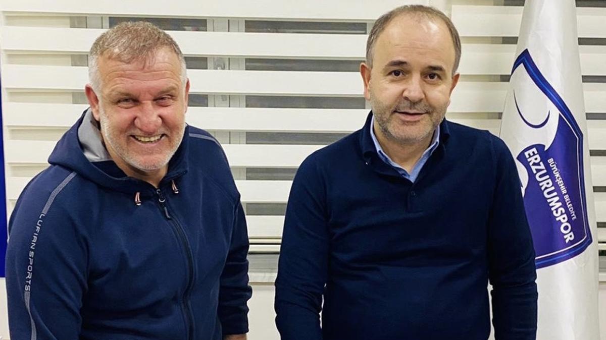 BB. Erzurumspor'un yeni teknik direktörü Mesut Bakkal oldu