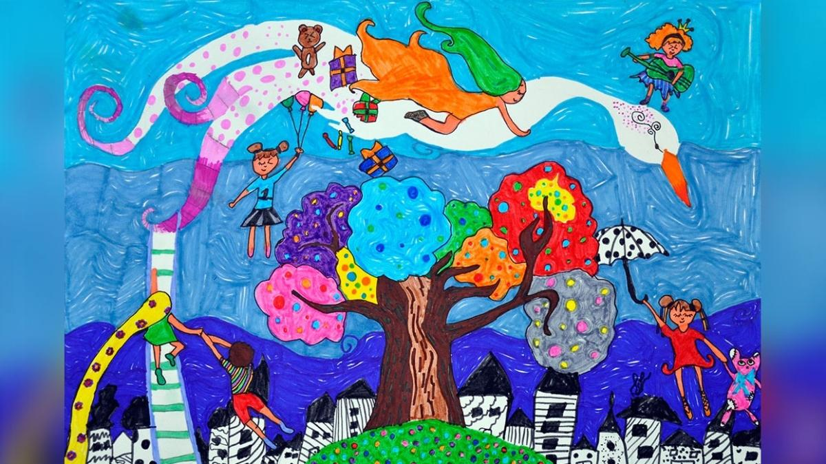 Covid-19 çocukların hayal dünyasına da girdi