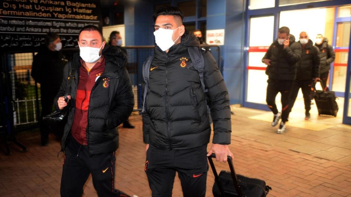 Galatasaray'da Falcao mutluluğu yaşanıyor
