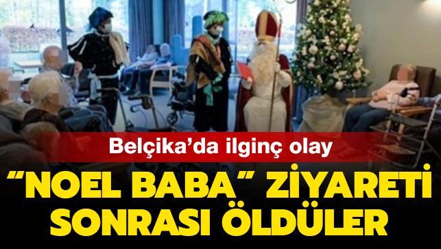 """Belçika'da ilginç olay... """"Noel Baba"""" ziyareti sonrası koronavirüsten hayatlarını kaybettiler"""