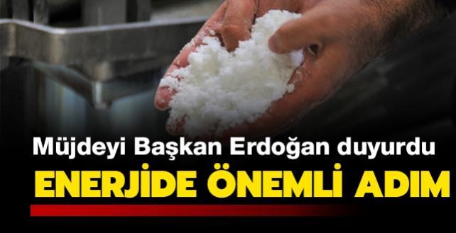 Son dakika haberler: Türkiye'de ilk lityum tesisi açıldı! Başkan Erdoğan müjdeyi duyurdu