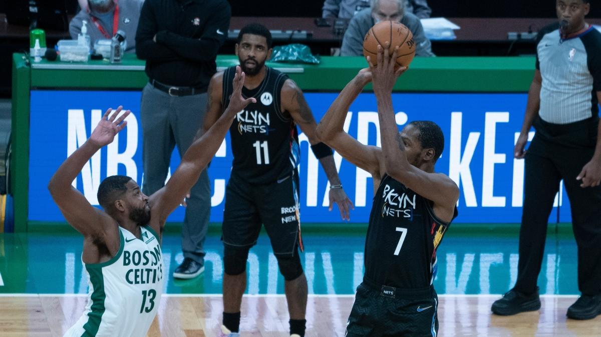 Brooklyn Nets, Boston Celtics'e fark attı