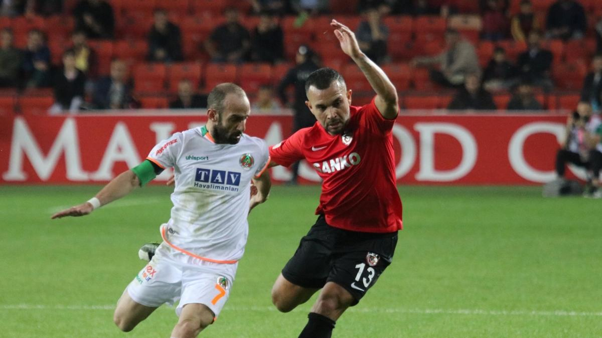 Süper Lig'de müthiş maç: Gaziantep FK - Aytemiz Alanyaspor