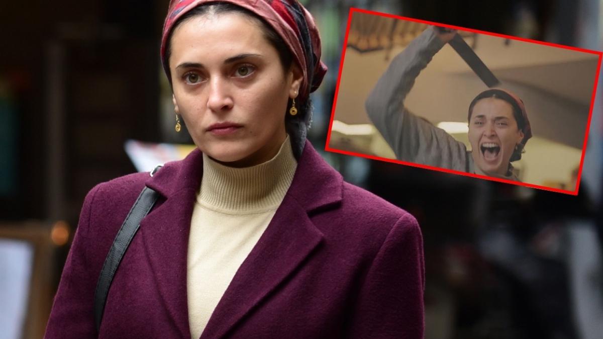 Ufak Tefek Cinayetler'in Merve'si Aslıhan Gürbüz Kırmızı Oda'daki palalı sahnesi sosyal medyayı salladı