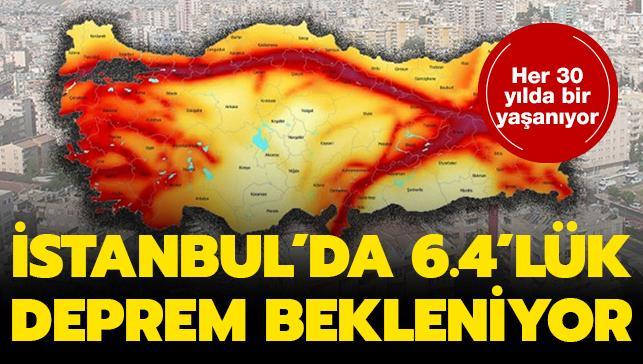 Uzmandan İstanbul depremi uyarısı: 6.4 büyüklüğünde olacak