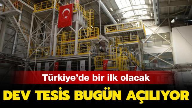 Yılda 10 ton üretilecek! Türkiye'nin ilk lityum üretim tesisi bugün açılıyor