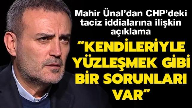 AK Parti Genel Başkan Yardımcısı Ünal'dan CHP'deki taciz iddialarına ilişkin açıklama: Kendileriyle yüzleşmek gibi bir sorunları var