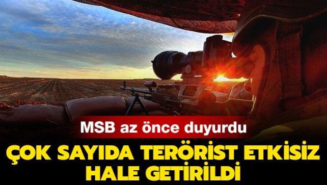 Sızma girişiminde bulundular... 15 PKK/YPG'li terörist etkisiz hale getirildi