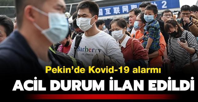 Pekin'de Kovid-19 alarmı: Acil durum ilan edildi