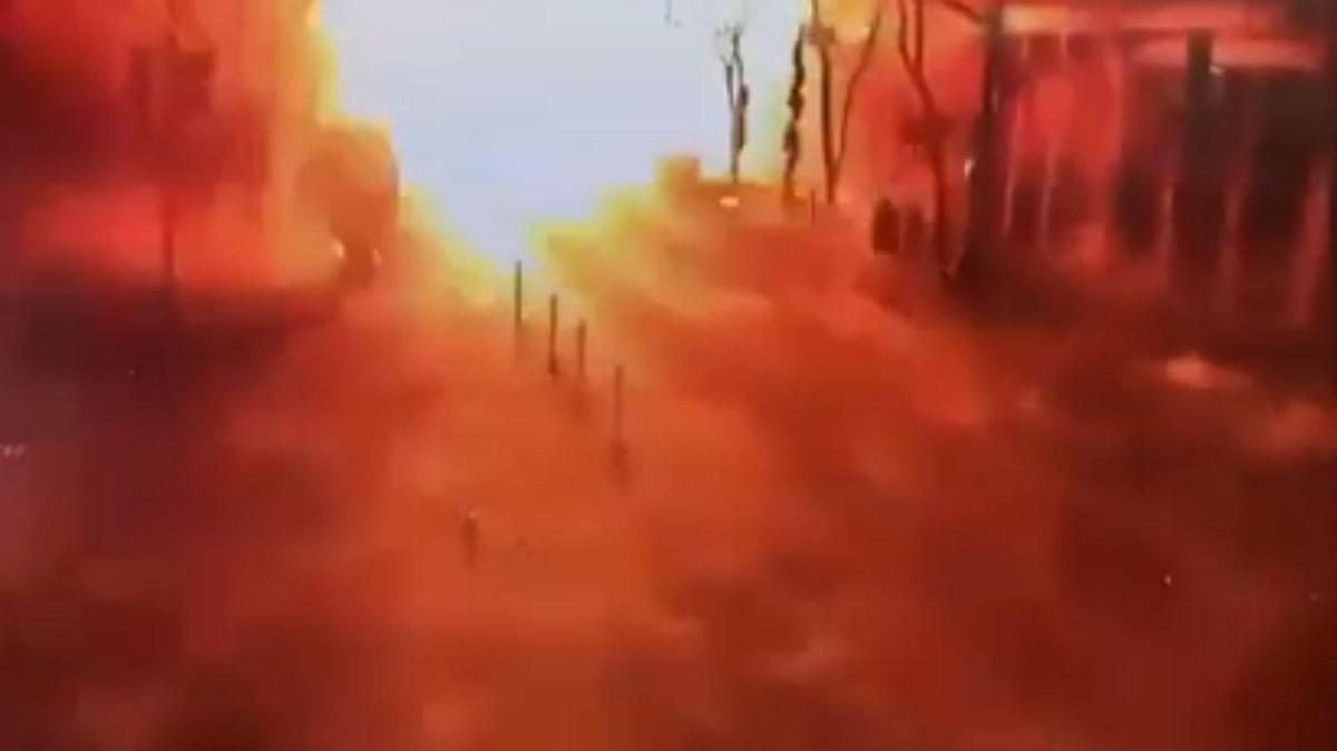 ABD'deki patlamanın yeni görüntüleri ortaya çıktı: Polislerin erken müdahalesi hayat kurtardı
