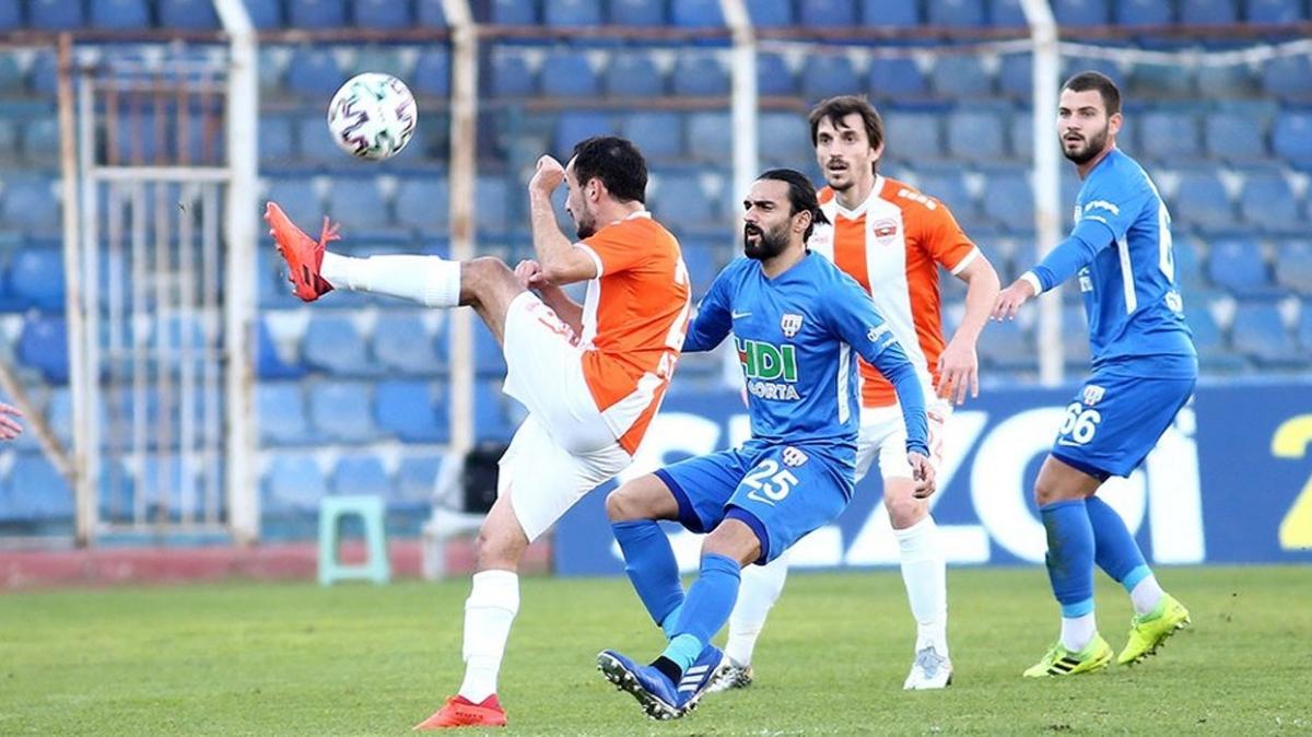 Bandırmaspor Adanaspor'u 90+5'te attığı golle devirdi