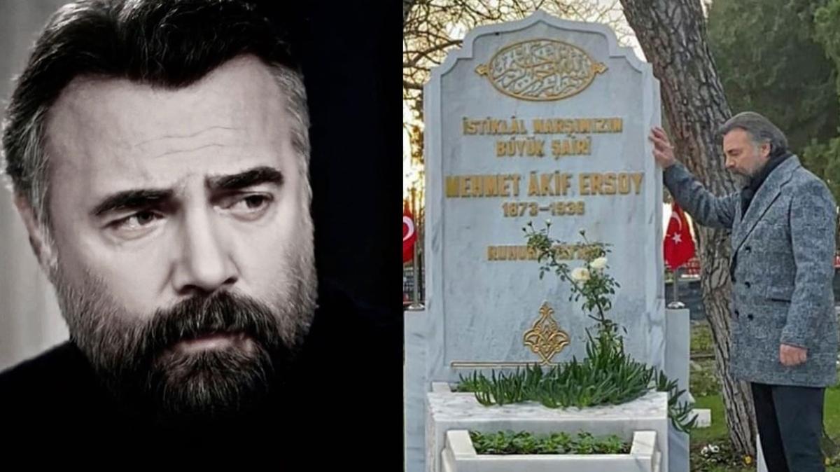 Eşkıya Dünyaya Hükümdar Olmaz'ın Hızır'ı Oktay Kaynarca Mehmet Akif Ersoy paylaşımıyla gönülleri fethetti