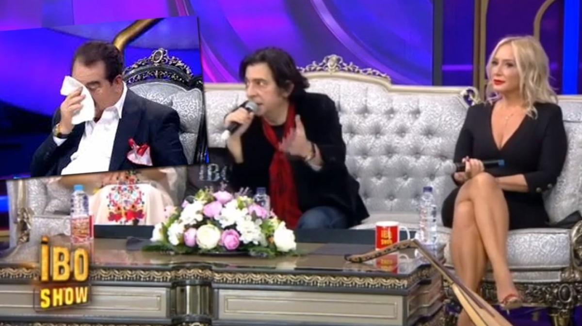 İbo Show'da Okan Bayülgen İbrahim Tatlıses'i ağlattı