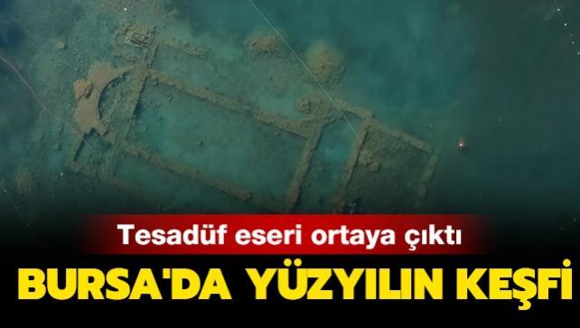 Tesadüf eseri ortaya çıktı: Bursa'da yüzyılın keşfi