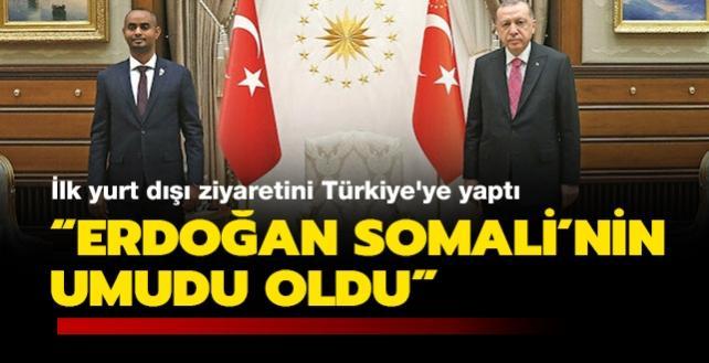 Türkiye mezunu Somalili Bakan: Erdoğan, Somali'nin umudu oldu