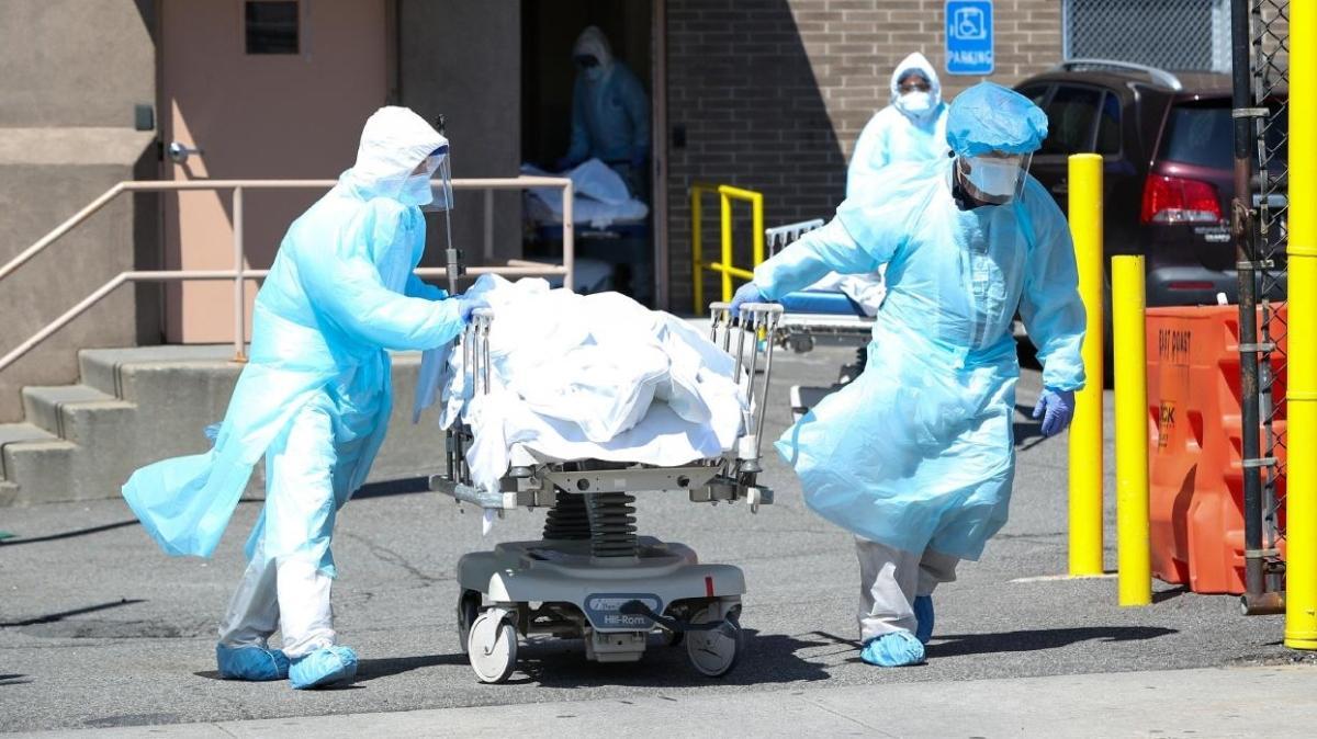 ABD'de koronavirüs nedeniyle son 24 saatte bin 249 kişi hayatını kaybetti
