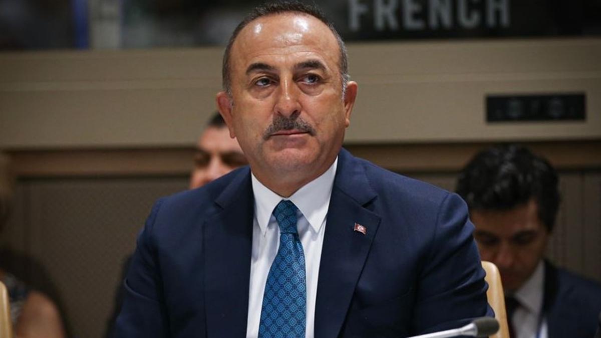 Dışişleri Bakanı Çavuşoğlu: Türkiye, UMH'nin talebine olumlu yanıt vermeseydi Libya kaosa sürüklenirdi