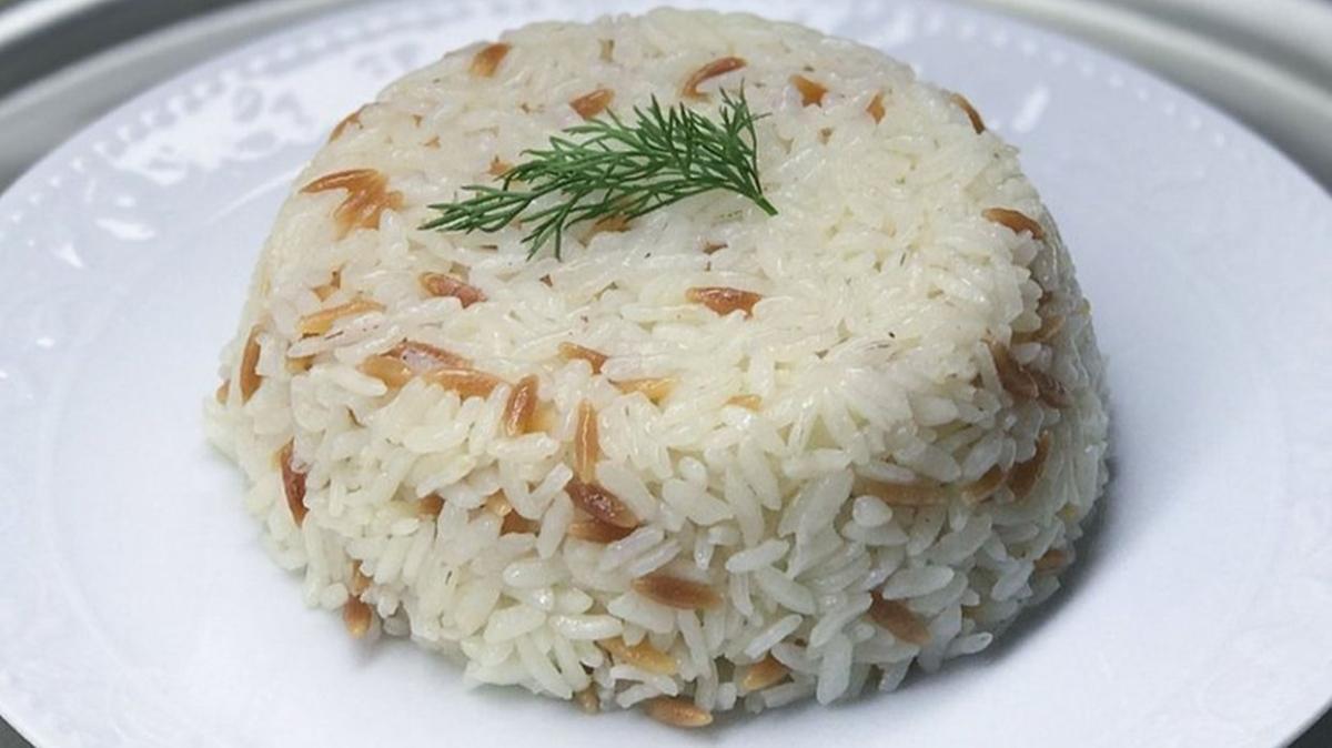 """Pirinç pilavı tarifi ve püf noktası: Pirinç pilavı nasıl yapılır"""""""