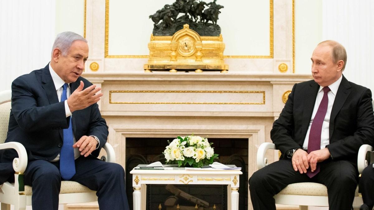Putin'le Netanyahu arasında kritik Suriye görüşmesi