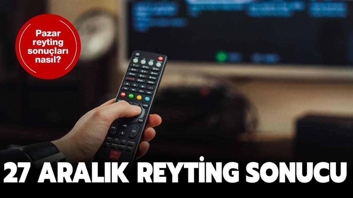 """27 Aralık reyting sonuçları nasıl"""" Kefaret, Arıza, Menajerimi Ara 27 Aralık reyting sonuçları açıklandı!"""