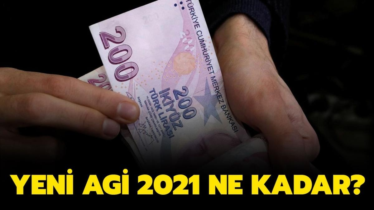 """AGİ 2021 ne kadar oldu"""" Yeni AGİ fiyatları tablosu belli oldu!"""