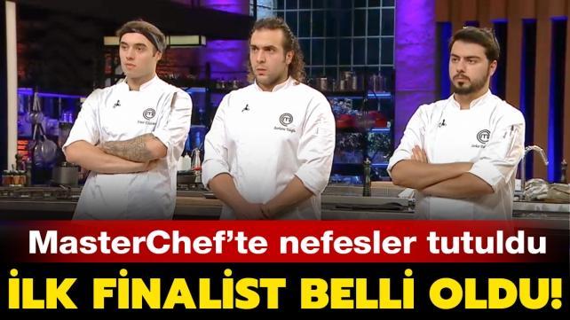 MasterChef Türkiye'nin ilk finalisti belli oldu