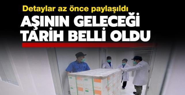 Çin'den ilk aşılar yarın sabah Türkiye'ye gelecek