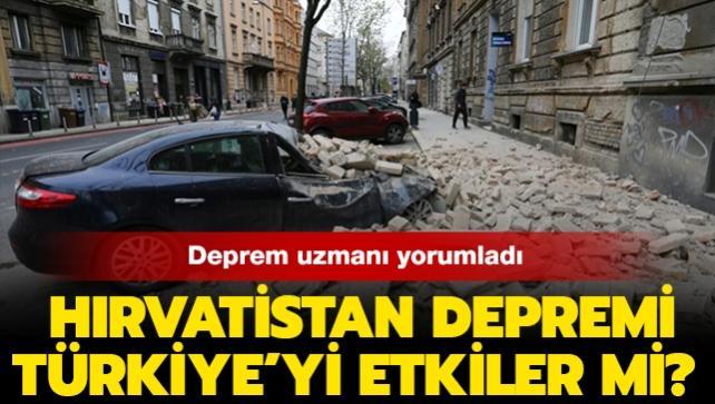 """Deprem uzmanı Hırvatistan depremini yorumladı: """"Bu deprem Türkiye'yi etkilemez"""""""