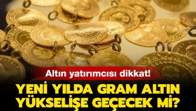 Gram altın için uzmanlar uyardı!