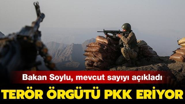 Son dakika haberi: Bakan Soylu, mevcut terörist sayısını açıkladı