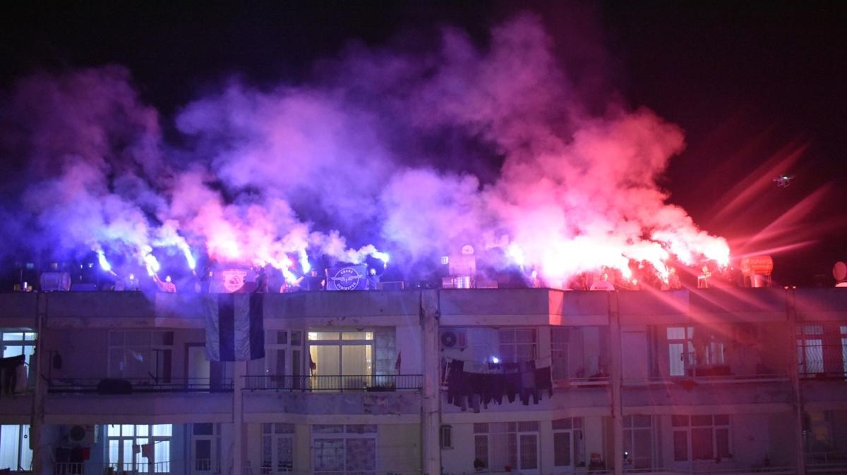 Adana Demirsporlular, 80. yıllarını evlerinde kutladı