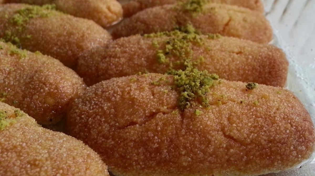 Şerbetli tatlıların en pratiği parmak tatlısı tarifi