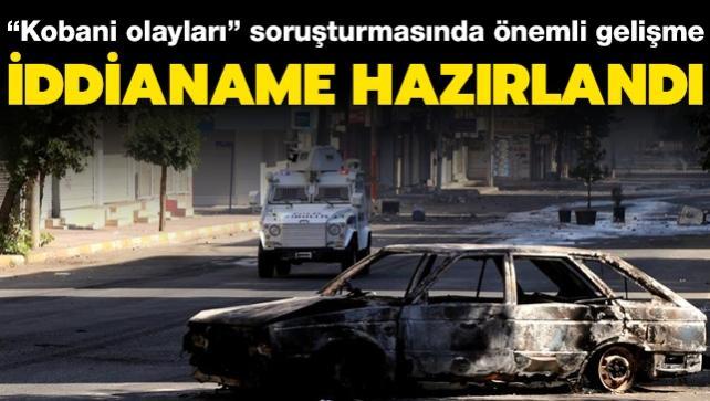 """Ankara Cumhuriyet Başsavcılığından """"Kobani olayları"""" soruşturması iddianamesi"""