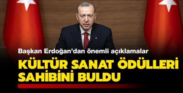 """Başkan Erdoğan: """"Anadolu, sanat üretimi için büyük bir klasör gibidir"""""""