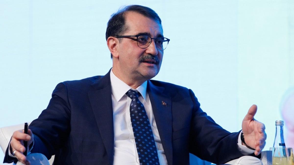 Enerji ve Tabii Kaynaklar Bakanı Dönmez'den yenilenebilir kaynak açıklaması