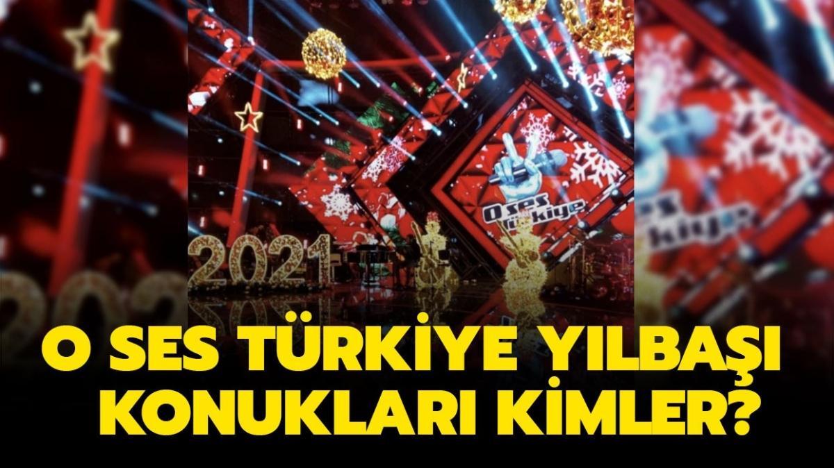 """O Ses Türkiye yılbaşı 2021 konukları kimler"""" O Ses Türkiye 2021 jürileri belli mi"""""""