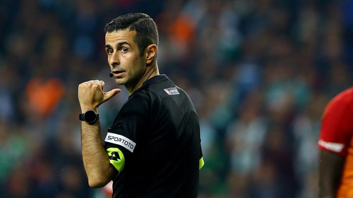Süper Lig'de 16. hafta maçlarını yönetecek hakemler belli oldu