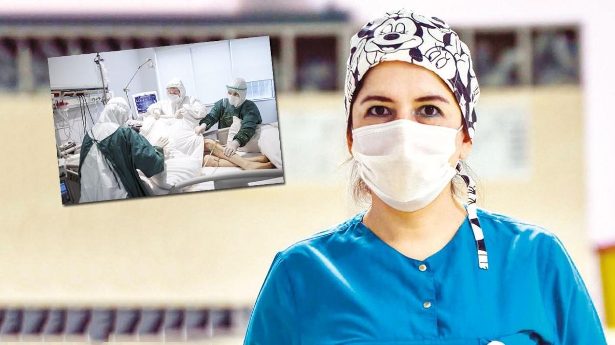 Türkiye'nin duaları sizinle... Güzel hemşire