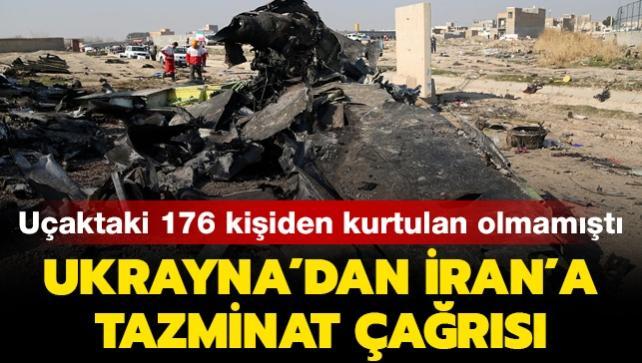 Uçaktaki 176 kişiden kurtulan olmamıştı: Ukrayna'dan İran'a tazminat çağrısı
